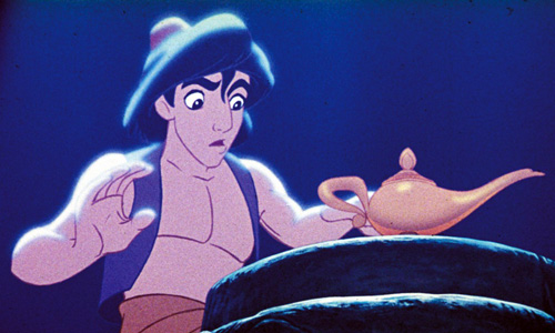 Aladdin gets the lamp in Disney's 'Aladdin'