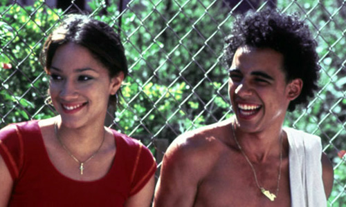 Victor Rasuk and Judy Marte in 'Raising Victor Vargas'