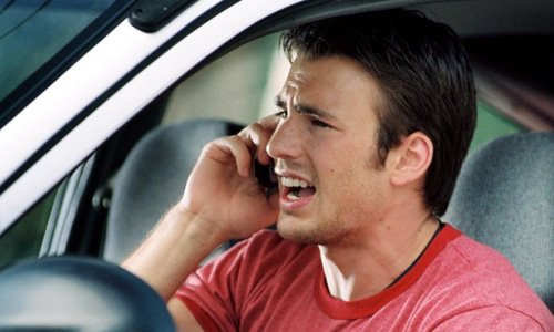 Chris Evans in 'Cellular'