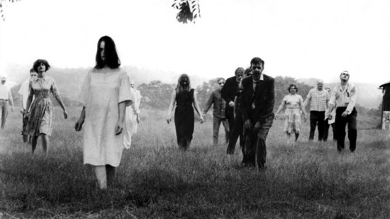 The zombies walk in 'Night of the Living Dead'