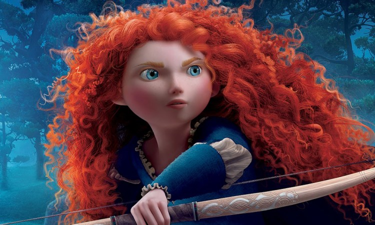 Merida takes aim in 'Brave'