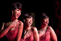 (from l. to r.) Beyonce Knowles, Anika Noni Rose and Jennifer Hudson co-star in 'Dreamgirls'