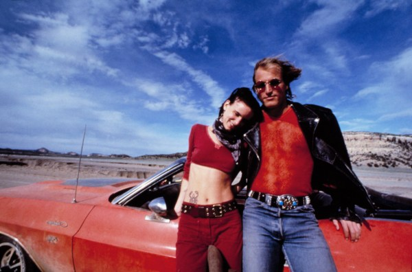 Woody Harrelson and Juliette Lewis are Mickie and Mallory, respectively, in Natural Born Killers.