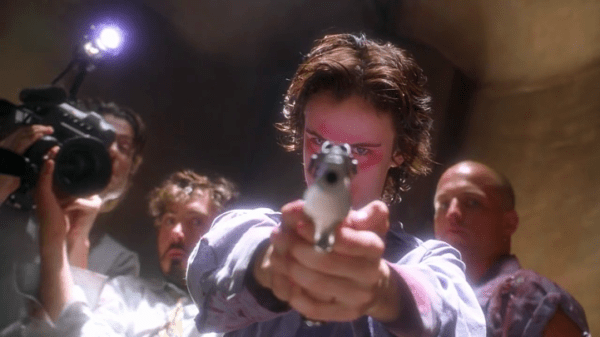 Juliette Louis in Natural Born Killers.