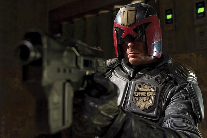 Karl Urban takes no prisoners in 'Dredd'