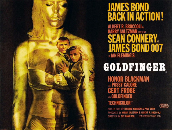 'Goldfinger' movie poster