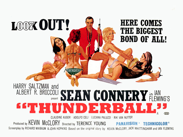 'Thunderball' movie poster