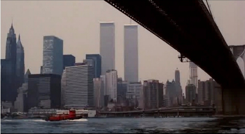 Twin Towers in 'Kill the Irishman'