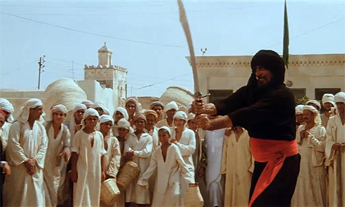 Swordsman shows off his skills in deleted scene from 'Raiders of the Lost Ark'