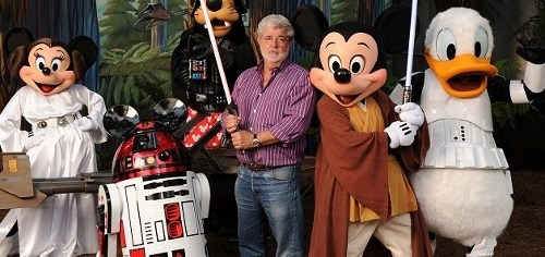 George Lucas has sold Lucasfilm to Disney, giving Mickey Mouse control over 'Star Wars'
