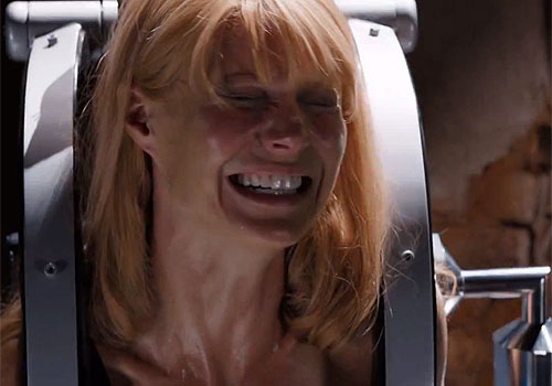 Gwyneth Paltrow is also seen and appears in peril in 'Iron Man 3' teaser