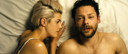 Agyness Deyn and Richard Coyle in 'Pusher'