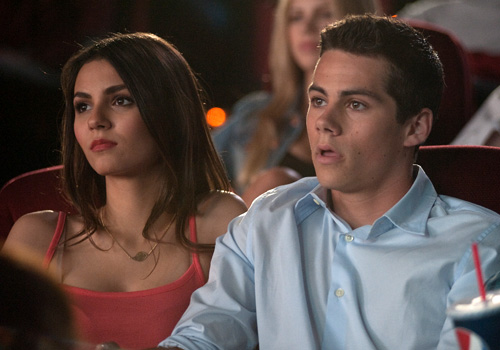 Victoria Justice and Dylan O'Brien in 'The First Time'