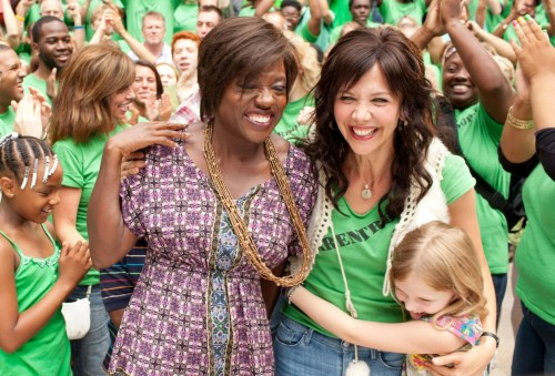 Viola Davis and Maggie Gyllenhaal in 'Won't Back Down'