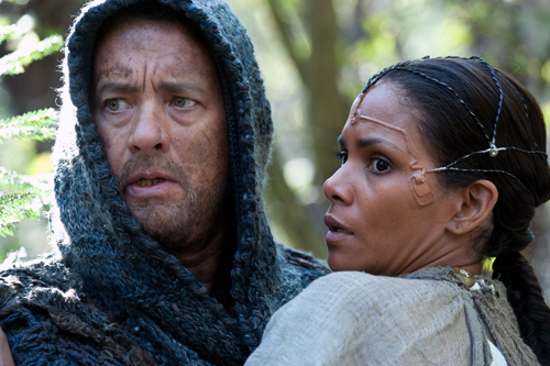 Tom Hanks and Halle Berry in 'Cloud Atlas'