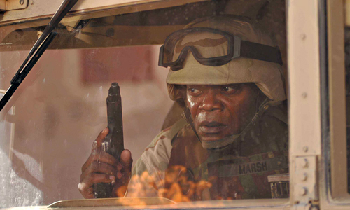 Samuel L. Jackson in 'Home of the Brave'