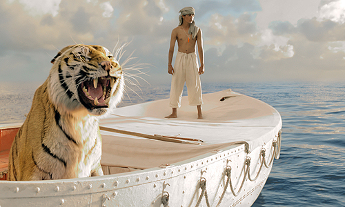 The all-CGI Bengal tiger, Richard Parker, will have you believing in movie magic in 'Life of Pi'
