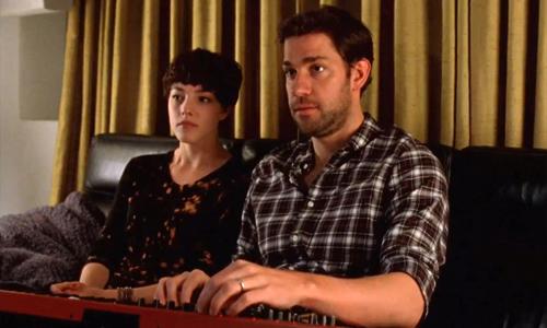 Things get complicated between Olivia Thirlby and John Krasinski in 'Nobody Walks'