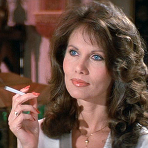 Maud Adams pulled rare trick, appearing in two Bond films but as different characters (see here in 'Octopussy')