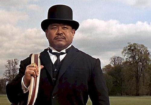 Harold Sakata is Oddjob in 'Goldfinger'