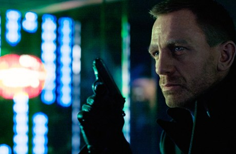 Daniel Craig is back at 007 in 'Skyfall'