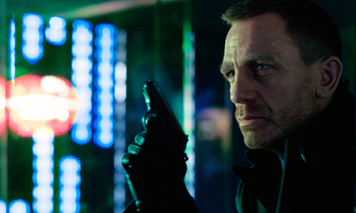 Daniel Craig is back at 007 in 'Skyfall'