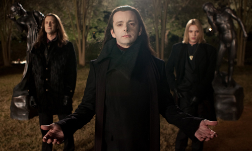 Michael Sheen takes on the Cullen clan in 'Twilight: Breaking Dawn Part 2'