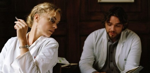 Nina Hoss and Ronald Zehrfeld in 'Barbara'
