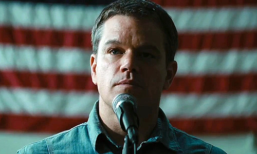 Matt Damon gets to look good in vanity piece, 'Promised Land'