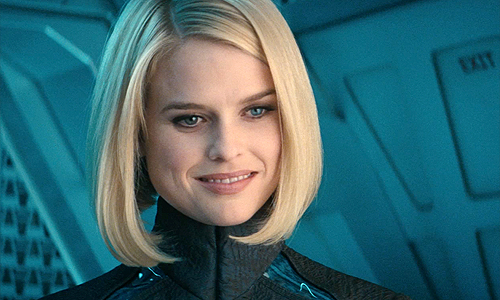 Alice Eve is Carol Marcus in 'Star Trek Into Darkness'?