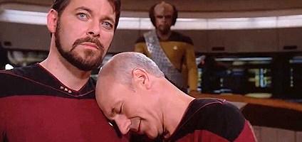 'Star Trek: The Next Generation' gag reel