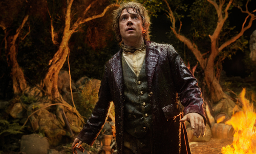 Martin Freeman stars as Bilbo Baggins in 'The Hobbit: An Unexpected Journey'