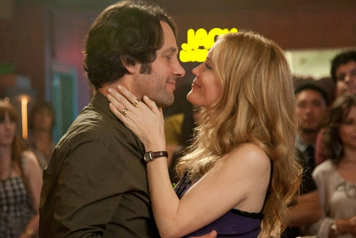 Paul Rudd and Leslie Mann in 'This is 40'