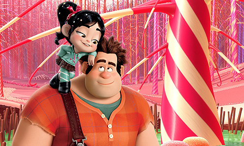 Ralph reluctantly makes a new friend named Vanellope in 'Wreck It Ralph'