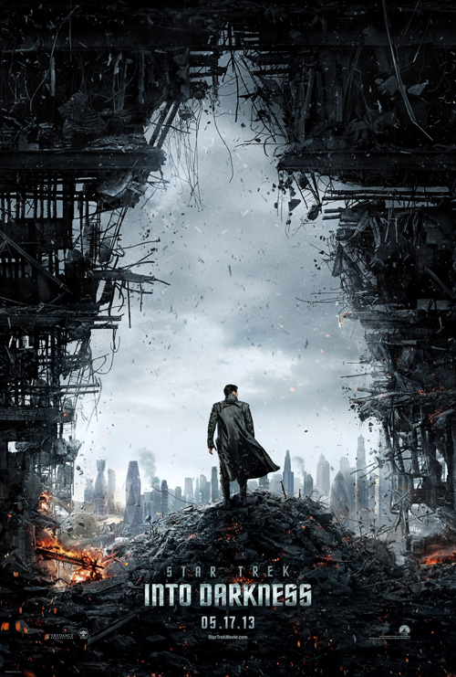 'Star Trek Into Darkness' teaser poster
