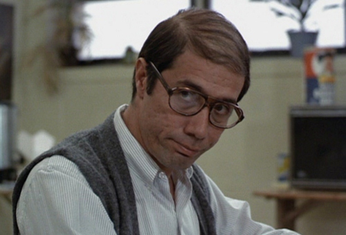 Jaime Escalante as portrayed by Edward James Olmos in 'Stand and Deliver'