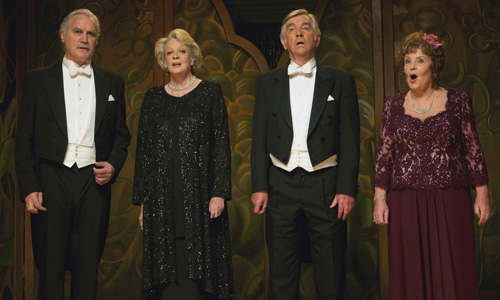 Billy Connolly, Maggie Smith, Tom Courtenay and Pauline Collins co-star in Dustin Hoffman's 'Quartet'