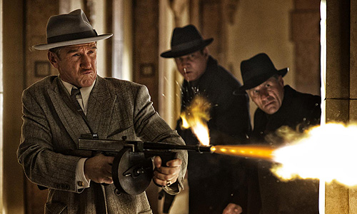 Sean Penn gets gun crazy in 'Gangster Squad'