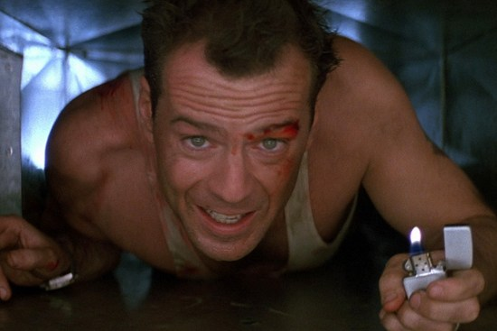 Bruce Willis became an action star with his unforgettable turn as John McClane in 1988's 'Die Hard'