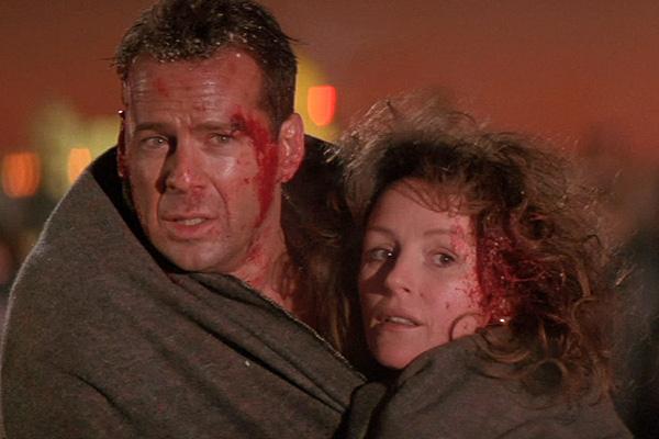 Bruce Willis and Bonnie Bedelia were back together again for 'Die Hard 2' (aka 'Die Hard 2: Die Harder')