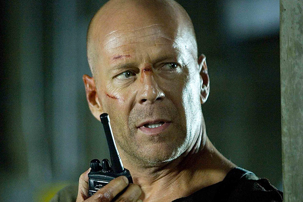 Bruce Willis returned to the role that made him famous after taking a 12-year break in 'Live Free or Die Hard'
