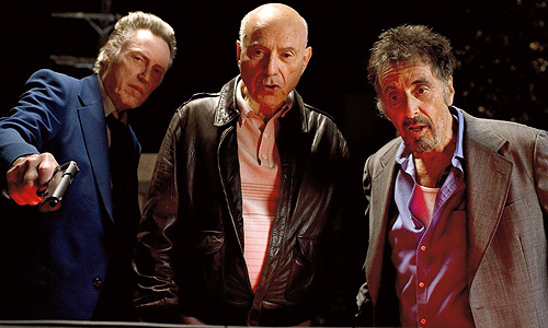 Christopher Walken, Alan Arkin and Al Pacino are the 'Stand Up Guys'