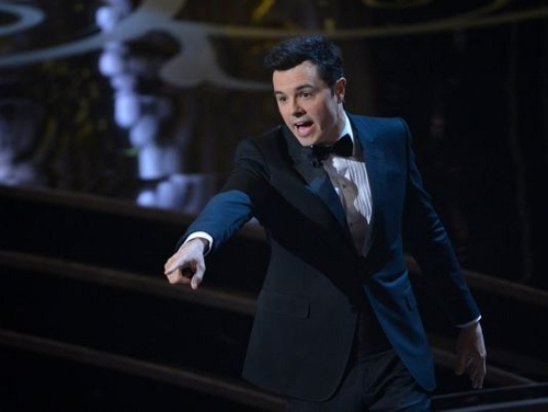 Seth MacFarlane points the way as host of the 85th Oscars