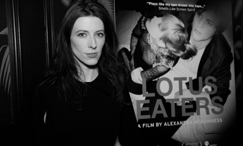 Alexandra McGuinness at premiere of 'Lotus-Eaters'