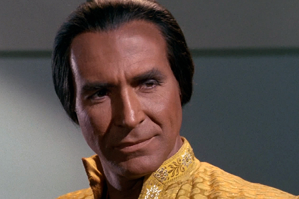 Ricardo Montalban played Khan in the Star Trek episode, 'Space Seed,' then later in 'Star Trek II: The Wrath of Khan'