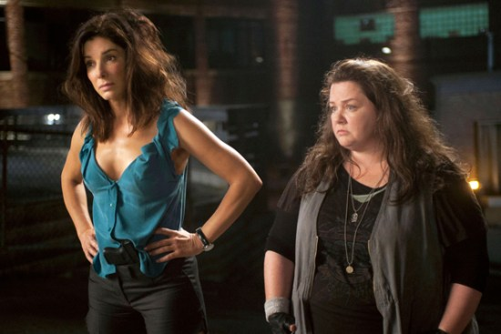 Sandra Bullock and Melissa McCarthy are comedy gold in 'The Heat'