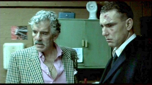 Dennis Farina and Vinnie Jones in 'Snatch'