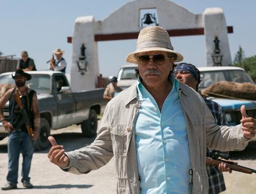 """Edward James Olmos as drug cartel leader """"Papi Greco"""" in '2 Guns'"""