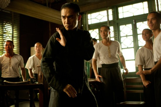 Tony Leung is Ip Man in 'The Grandmaster'
