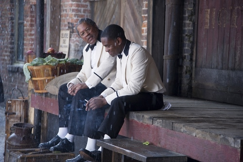 Clarence Williams III and Aml Ameen in 'Lee Daniels' The Butler'